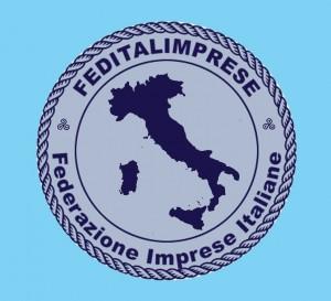 Feditalimprese Italia sfondo azzurro grande