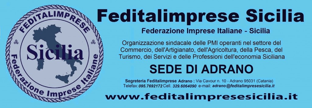 Feditalimprese Sicilia - sede Adrano